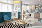 40平方米小户型公寓装修的完美布局