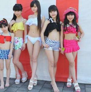 """日本小学生女团11岁成员""""仲村星虹""""走红"""