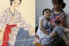 双手残疾的13岁少女 绘画作品屡获国际大奖