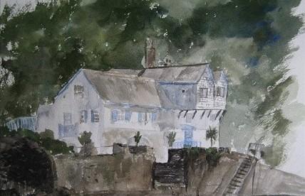 英国身价上亿11岁神童小画家Kieron Williamson的绘画作品