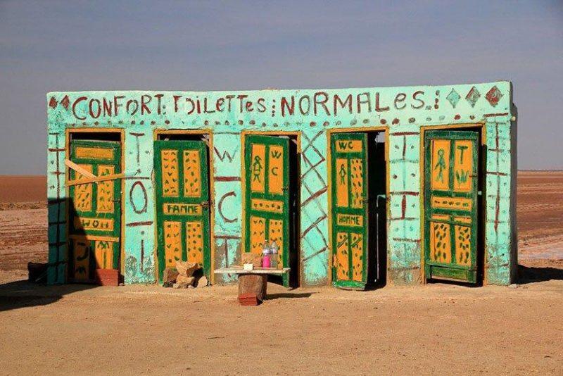 世界奇特的厕所