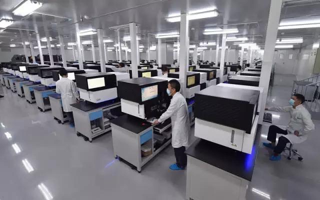 中国建成全球最大基因库