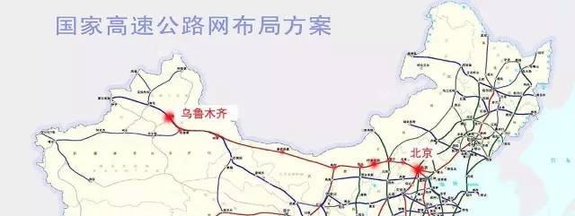 中国铁路网布局图