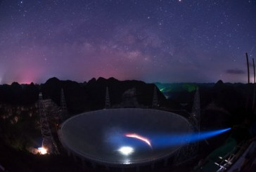 """""""中国天眼""""可探测宇宙边缘 台媒:或能找外星人"""