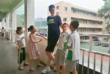 11岁男孩身高过2米!人类真的越来越高吗?这样真的好吗?