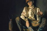 11岁小女孩在人身上作画,作品被国家博物馆收藏